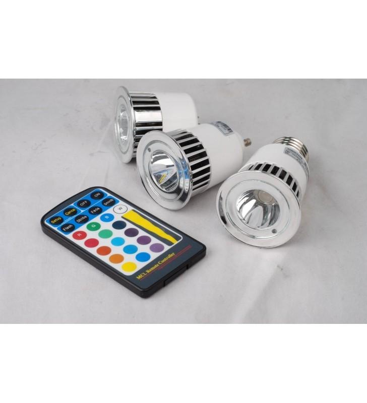Faretto GU10 5W RGB