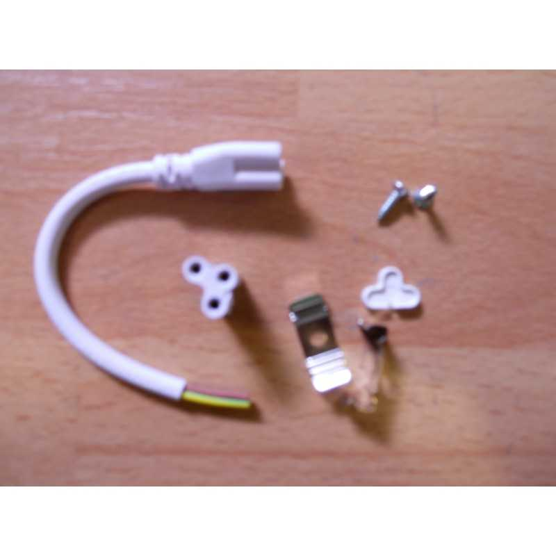 Replacement kit for linear T5 LED ceiling light