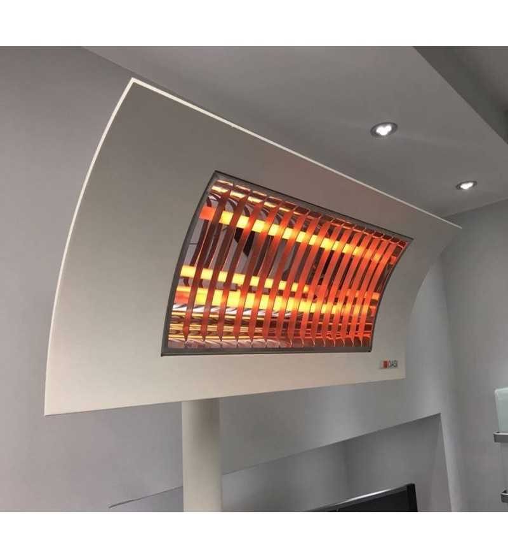 Oasi bianca Lampada Riscaldante di Design