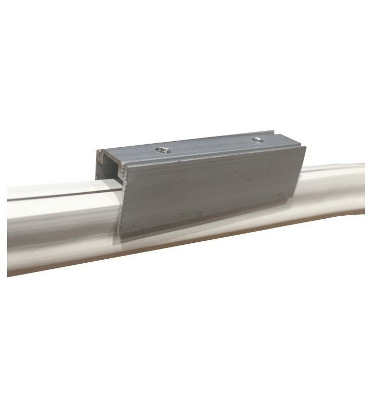 Supporto in alluminio per led neon flex