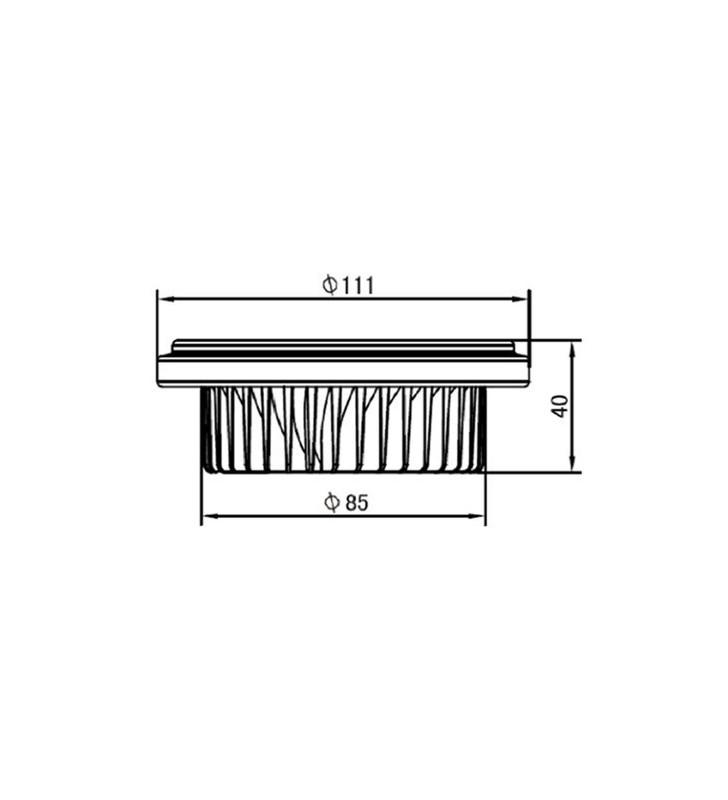 Faretto AR111 40 gradi a LED 15W