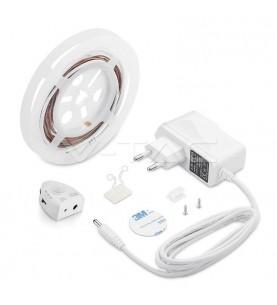 LED Bedlight with Sensor Single Bed Warm White