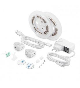 LED Bedlight Sensor Double Bed Warm White