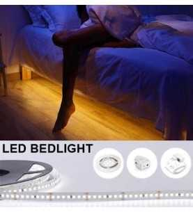 LED Bedlight Sensor Double Bed Warm White