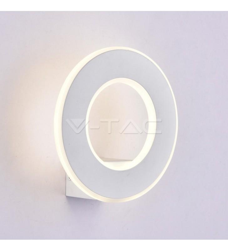 Lampada da parete Design circolare bianca 9W