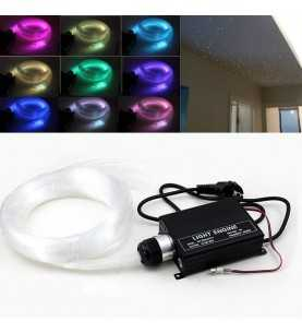 16W RGB 2,5MT LED fiber optic kit