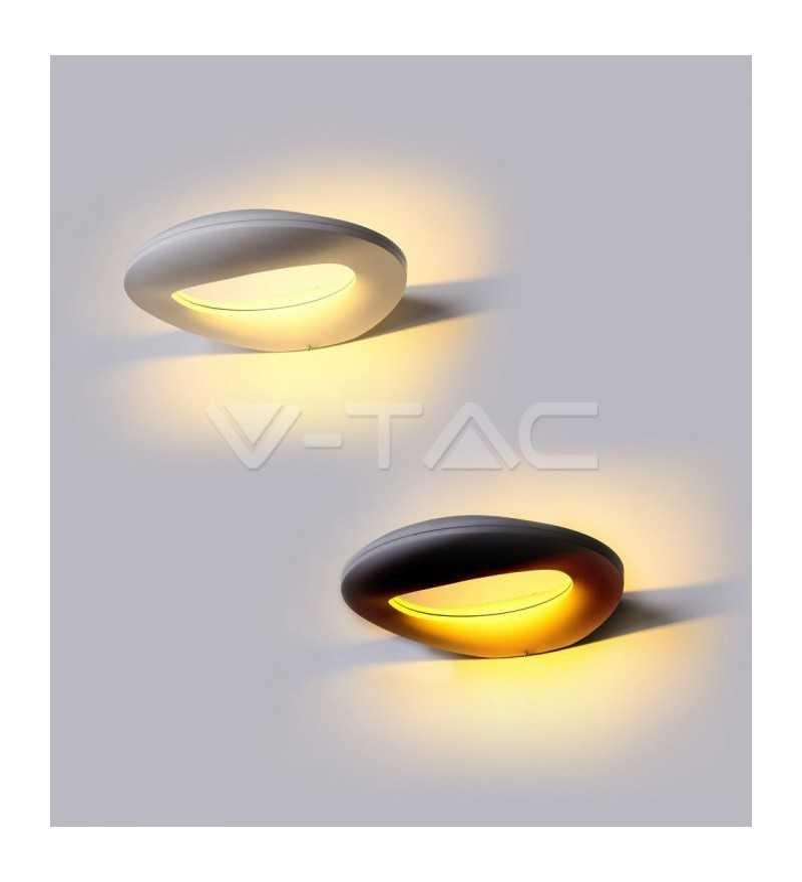 Wall lamp smile Design white 10W
