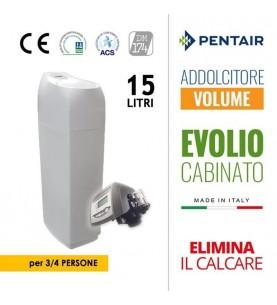 Addolcitore Evolio 15LT 3-4pp Cabinato Volume Logix con bypass Autotrol