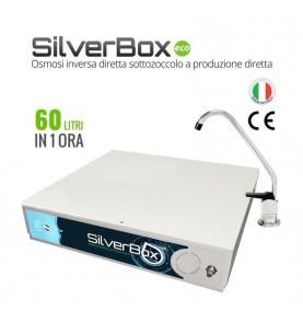 Depuratore Osmosi Sottozoccolo a Produzione Diretta 60 L/H Silverbox Eco