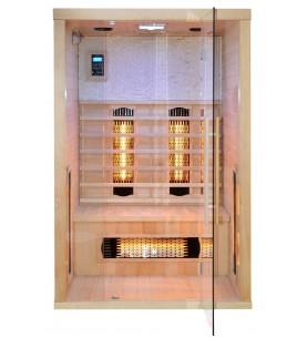 Sauna Infrarossi C 2pp 120x110x190cm
