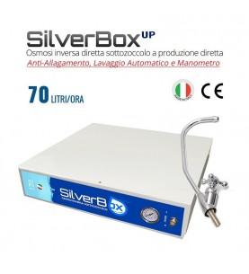 Depuratore Osmosi Sottozoccolo a Produzione Diretta 70 L/H Silverbox Up