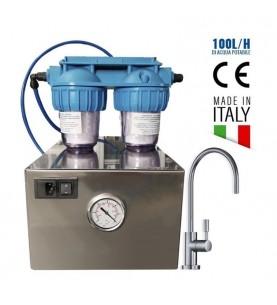 Depuratore osmosi inversa a produzione diretta 100 Lt/h GoldBox